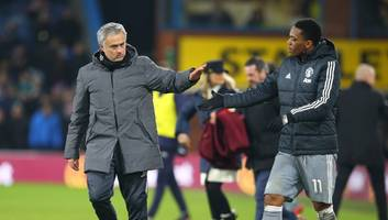 josé mourinho denies reports that troubled winger has handed in a transfer request at old trafford