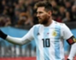 'best in the world' messi cannot be stopped, says croatia's dalic