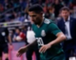 mexico winger aquino not taking world cup spot for granted