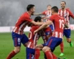 thomas partey lifts career first trophy after atletico madrid's europa league triumph