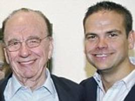 rupert murdoch's eldest son lachlan set to becomebe chairman and chief exec of 21st century fox