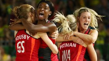 england netball: commonwealth games gold medallists remain third in world rankings