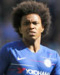 Man Utd hold Willian talks: Chelsea transfer wanted BEFORE the World Cup