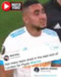 West Ham fans mock Dimitri Payet after Marseille star limps off in Europa League final