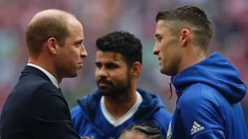 duke of cambridge to miss fa cup final because of royal wedding