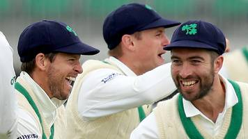 Ireland's Test debut 'just the beginning'