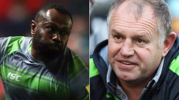 dean richards and vereniki goneva: newcastle duo win top premiership awards