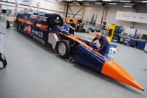 funding 'setback' delays bloodhound supersonic car's high-speed trials