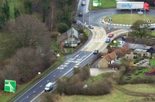 A417 crash: What are the diversions after car and lorry collision closes Crickley Hill from Shurdington Road to Air Balloon roundabout?