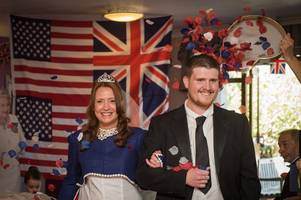 specialist dementia care home in waltham abbey stages mock royal wedding to bring celebration to elderly residents