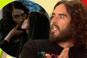 Russell Brand reveals he SNOGGED Meghan Markle and his mum is making 'remarkable' recovery after horrific car crash