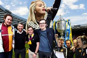 video: motherwell's scottish cup final song set to overtake rita ora in itunes charts