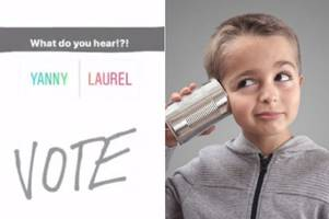 Yanny or Laurel: Which do you hear in this audio illusion? It's the dress all over again!