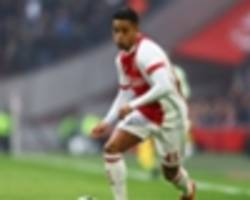 'they do what they want' - kluivert reveals ajax denied him tottenham move