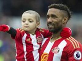 jermain defoe pays heartfelt tribute to bradley lowery on what would have been his seventh birthday