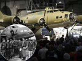 wwii bomber memphis belle is lovingly restored and put on display