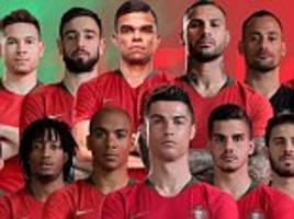 cristiano ronaldo heads portugal world cup squad with nearly half of their euro 2016 heroes missing