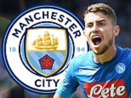 Manchester City 'will sign Jorginho if they can agree fee with Napoli for £50m-man' insists agent