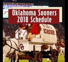 Oklahoma Sooners 2018 Football Schedule | The Scoop