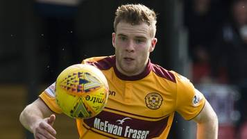 Motherwell's Cadden added to Scotland squad