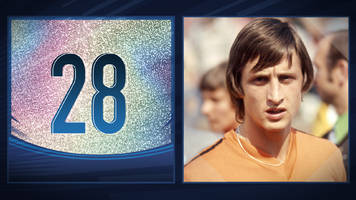 50 great world cup moments: johan cruyff's legendary turn - 1974