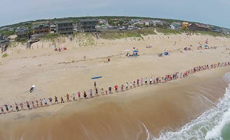 surfrider foundation 'hands across the sand' event to unite against offshore drilling once again - saturday, may 19 is time to get out and stand up for your beach.