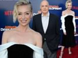 Portia de Rossi joins shamed Jeffrey Tambor at Arrested Development premiere after quitting acting
