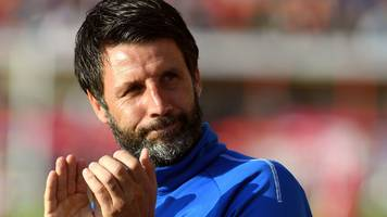 Exeter City v Lincoln City: Danny Cowley claims Imps kit man was 'assaulted' by fans
