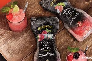 b&m and iceland are selling frozen ciders - and they're a bargain