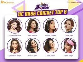 uc browser' miss cricket contest enters final round; top 8 contestants vie for cash prize of rs 10 lakh