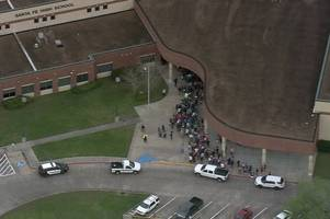 gunman opens fire at texas high school with active shooter still on scene