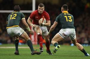 Wales v South Africa set to have an unfamiliar look as Boks leave bulk of top side at home