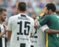 buffon one of the greatest of all time, says pjanic