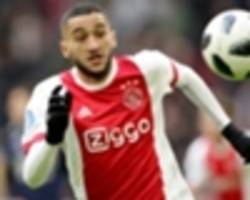 hakim ziyech ready for ajax exit amid liverpool, everton interests