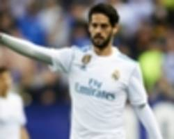 'real madrid the right place' - isco dismisses transfer rumours