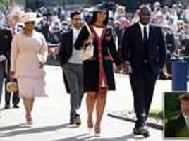 Oprah Winfrey and Idris Elba among famous faces at royal wedding