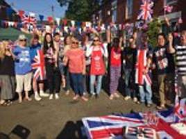 royal wedding fever grips britain with street parties across the country