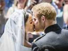 Top eight moments of Prince Harry and Meghan's wedding