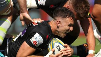 Premiership: Exeter Chiefs 36-5 Newcastle Falcons