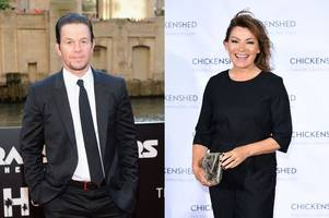 movie star mark wahlberg to appear in dundee sitcom alongside scots tv host lorraine kelly