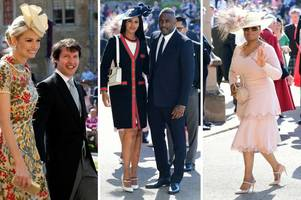 Oprah Winfrey, Idris Elba and James Blunt among the first guests to arrive at Prince Harry and Meghan Markle's wedding
