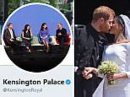 Kensington Palace updates its Twitter profile photo to include Meghan Markle