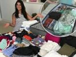Organisation expert reveals the secret to the perfectly packed suitcase
