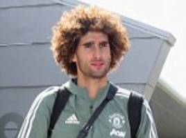 AC Milan hopeful of signing Marouane Fellaini from Manchester United