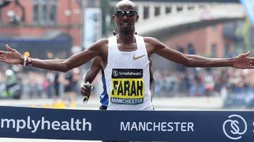 great manchester run: mo farah wins first 10km great manchester run