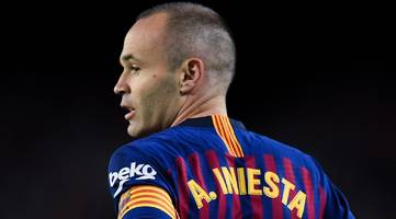 Iniesta ends Barcelona career with win over Real Sociedad