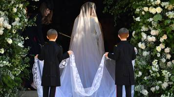 royal wedding 2018: meghan markle's givenchy dress in detail