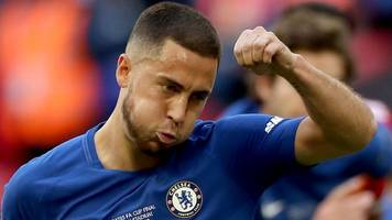 Eden Hazard: Chelsea may have to sell forward - Steve Clarke