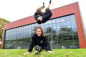 'Hollywood couple' return to North Staffordshire to transform warehouse into parkour centre