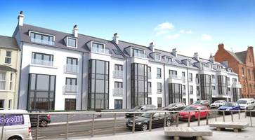 high spec £10m apartments scheme to boost portrush ahead of open